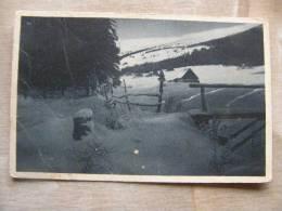 Schles.Gebirgsbilder - Wintermorgen Im Blaugrunde - Schneekopfe *Brückenberg I.R.  1926  D89530 - Schlesien