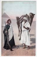 AFRICA EGYPT BEDOUIN IN THE DESERT LICHTENSTERN & HARARI CAIRO Nr. 120 OLD POSTCARD - Other