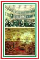 [DC1467] CARTOLINEA - 150 ANNI DELL´UNITA´ D´ITALIA - TORINO CAPITALE D´ITALIA - AULA DEL SENATO E PARLAMENTO SUBALPINO - Eventi