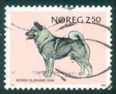 Norwegen  1983  Norwegische Hunderassen  (1 Gest. (used))  Mi: 879 (0,50 EUR) - Norvège