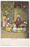 AFRICA EGYPT ARAB SCHOOL FOTO C. ZANGAKI Nr. 5628 OLD POSTCARD - Other