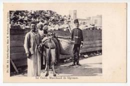AFRICA EGYPT CAIRO VEGETABLE SELLER MAX H. RUDAMNN Nr. 126 OLD POSTCARD - Cairo