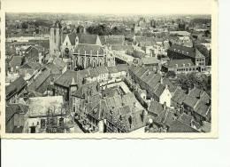 Kortrijk Courtrai Panorama Der Stad En Begijnhof - Kortrijk
