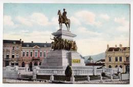 EUROPE BULGARIA SOPHIA MONUMENT CZAR BEFREIER OLD POSTCARD - Bulgaria