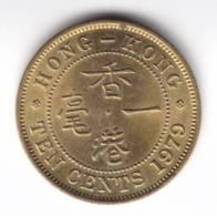 @Y@  Hong Kong  10 Cent 1979   UNC  ( C109 ) - Hongkong