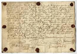 /!\ #4343 - RARE MANUSCRIT  Daté XVIIème Siècle LATIN, OCCITAN Ou VIEUX FRANCAIS - Manuscrits