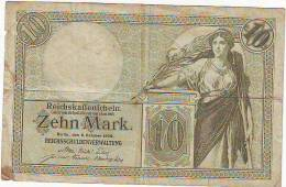 ALLEMAGNE - 6 Octobre 1906 - Billet De 1 Mark - ETAT 6.5/10 - [ 2] 1871-1918 : Duitse Rijk