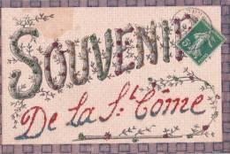 Souvenir De La St Côme/Réf:C0380 - Prénoms
