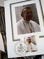 PAPA GIOVANNI PAOLO I ALBINO LUCIANI SALITA A PNTEFICE  FILATELICA  120 1979  EC11094 - Spettacolo