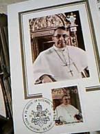 PAPA GIOVANNI PAOLO I ALBINO LUCIANI SALITA A PNTEFICE  FILATELICA  70 1979  EC11095 - Spettacolo