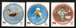 DOMINICANA-1960-Posta Aerea-Cat Yvert E Tellier Dal N°146 Al N°148-3 Valori Dentellati E 3 Valori Non Dentellati-nuovi - Dominique (1978-...)