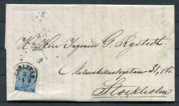 1871 Sweden 12 Ore Coat Of Arms Entire - Carlstad