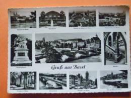 E1-suisse--gruss Aus Basel--carte Photo - BS Bâle-Ville