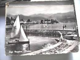 Italië Italy Italia Italiana Italien Lago Maggiore Verbania Baveno Sailing Boat - Verbania