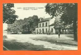 """Dpt  88  Monthureux Sur Saone  """"  La Gare  """" - Monthureux Sur Saone"""