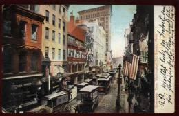 Cpa Etats Unis  Newspaper Row , Washington St.  Boston   HB13 - Boston