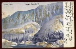 Cpa Etats Unis Winter Scene  Niagara Falls   N.Y.   HB13 - Buffalo