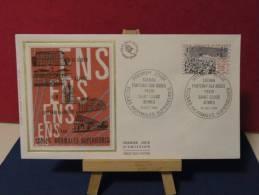 FDC - L´École Normales Supérieures - Paris St Cloud - 16.10.1982 - Coté 1,50 € (2013 Y&T) - FDC