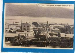 Nouvelle Calédonie : NOUMEA : Rue Solférino , Et Montagne De La Presqu'ile Ducos - Nouvelle Calédonie
