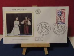 FDC - Marionnettes - 08 Charleville Mézières - 23.9.1982 - Coté 3 € (2013 Y&T) - FDC