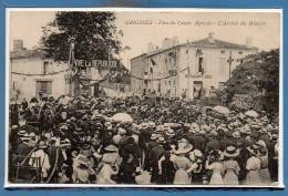 33 - GRIGNOLS --  Fêtes Du Comice Agricole - L'arrivée Du Ministre - Frankrijk