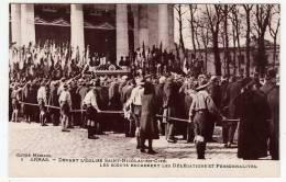 62 - Arras - Devant L'église Saint Nicolas En Cité - Les Scouts Encadrent Les Délégations -Editeur: Lévy Et Neurdein N°8 - Arras