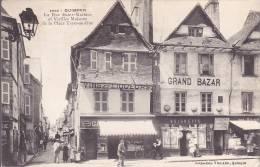 CPA - 29 - QUIMPER - La Rue Saint Mathieu Et Vieilles Maisons De La Place Terre Au Duc - 3850 - RARE !!!!! - Quimper