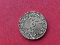 2 Frs 1924 Chambre De Commerce NEUVE Avec Velour De Frappe ( Non Visible Sur La Photo ) - I. 2 Francs