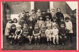 PHOTOCARTE CPA 69 FRANCHEVILLE LE HAUT école Maternelle  Mme TRONEL Directrice  Pjoto PACALET Rue Servient Lyon ( D100 ) - Ohne Zuordnung