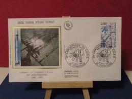 FDC - C.N.E.S. Centre National D'étude Spatiales - 31 Toulouse - 15.2.1982 - Coté 3,70 € (2013 Y&T) - FDC