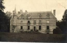 SAINT PIERRE LANGERS (50) Carte Photo Vue Du Chateau - France