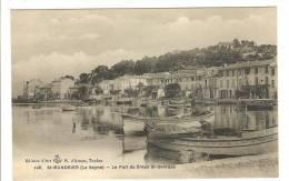SAINT MANDRIER SUR MER - VAR - LE PORT DU CREUX SAINT GEORGES - BARQUES - Saint-Mandrier-sur-Mer