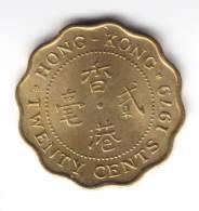 @Y@   Hong Kong  20 Cent 1979 UNC   (C106) - Hong Kong