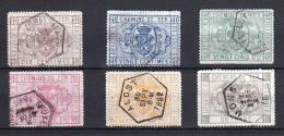 Belgie  Nr° TR1-6 Gestempeld - Used