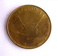 JETON MEDAILLE SHELL 1969 - CONQUETE DE L�ESPACE - SPUTNIK 1 - 1957