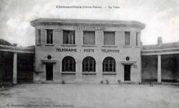 52 HAUTE MARNE CHATEAUVILLAIN LA POSTE - Chateauvillain