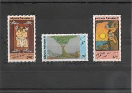 POLYNÉSIE  Année  1990  N° Y/T 368/370**  Côte 26,30 € - Polynésie Française