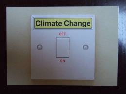 Climate Change Carte Postale - Advertising