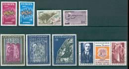 Andorre Année 1972 Complète N° 217 à 225A ** - Annate Complete