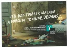 """Fondation Abbé Pierre : Un Taudis , C'est Le Contraire D'un Logement , Tu Vas Tomber Malade à Force De Trainer Dedans"""" - Cartes Postales"""