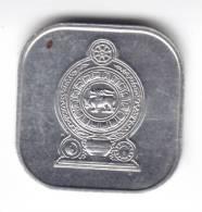 @Y@  Ceylon  Sri Lanka   5 Cents 1988  UNC   (C115) - Sri Lanka