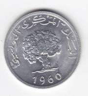 @Y@    Tunesië  5 1960      (C39) - Tunisie