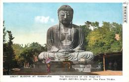 JAPON  GREAT BUDDHA AT KAMAKURA - Zonder Classificatie