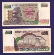 ZIMBABWE 2001, Banknote,  UNC. 500 Zim Dollar - Zimbabwe