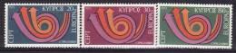 Chypre - 1973 - Yv.no. 381/3,  Neufs** - Cyprus (Republic)