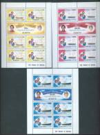 ST KITTS - 1981 - MNH/*** LUXE - ROYAL WEDDING DIANA CHARLES - Mi 66-71A - Yv 476-481 -  Lot 7198 - St.Kitts-et-Nevis ( 1983-...)