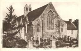 22 - CPA Saint-Alban - L'Eglise Paroissiale - France