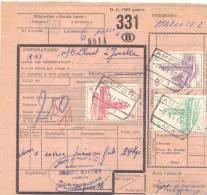 D051 -België  Spoorweg Chemin De Fer  Document  Met Stempel AMPSIN - Chemins De Fer