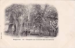 BRIGNOLES/83/Chapelle Du Couvent Des Cordeliers/Réf:C0381 - Brignoles