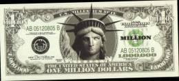 BILLET FANTAISIE _ UN MILLION DE DOLLARS , SERIES 2003 - Other